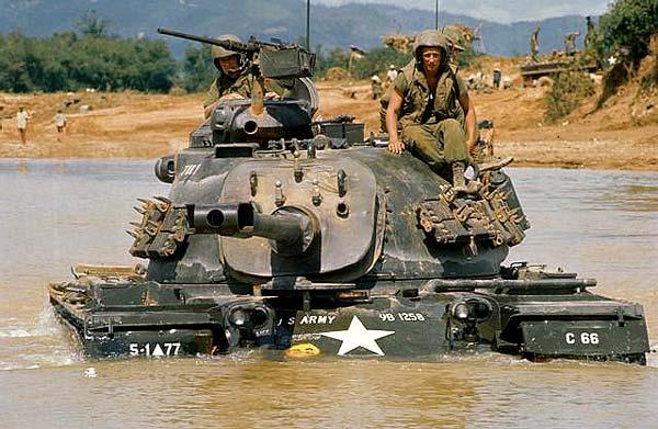 tank used in vietnam.